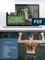 Beginner Calisthenic PDF