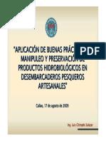 Curso en Buenas Practicas de Manipuleo y Preservacion de p. p. en Dpa Chempen