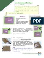 Passo a Passo - Material de Escritório - Reaproveitamento de Envelopes