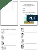 Apostila Para Silábicos Com Correspondência e Silábicos-Alfabéticos. Neusa