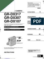 JVC GR-DX107/GR-DX307/GR-DX317 Instructions Manual