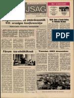 Tolna Megyei Népújság címlapja, 1983/12/11