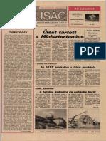 Tolna Megyei Népújság címlapja, 1986/07/18