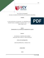 LA APLICACIÓN DE LAS FINANZAS Y SU IMPORTANCIA EN LA GESTIÓN DE PROYECTOS EN LA EMPRESA CONSTRUCTORA   C Y P CONSULTORES Y EJECUTORES, 2015