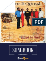 Songbook - Mapa Da Mina - FUndo de Quintal