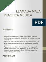 Mala Practica Medica Ecuador