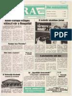 24 Óra címlapja, 1991/06/07