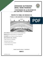 Informe Final - Mecanismos de Producción