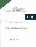 Informacion Meteorologica en Colombia