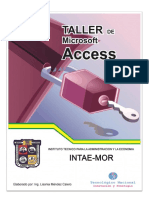 Manual de Access 2010 cencap nicaragua