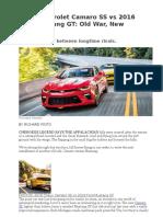 2016 Camaro vs Mustang.docx
