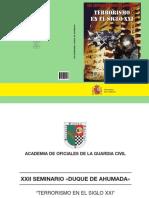 Terrorismo en El Siglo XXI- Seminario Duque de Ahumada (NIPO 126-11-030-2)
