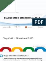 Presentación Diagnóstico Situacional 2015