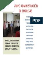 Presentacion Del Grupo de Administracion