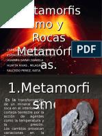 Presentación sobre Rocas Metamórficas