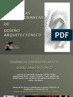 Tendencias Contemporaneas de Dise;o Arquitectonico