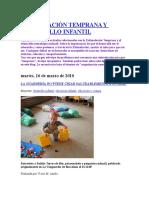 Estimulación Temprana y Desarrollo Infantil