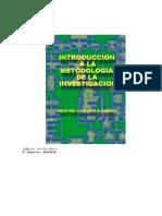 Libro de Introduccion a La Metodologia de La Investigación.