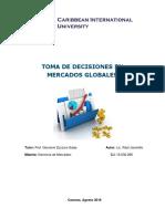 Toma de Decisiones en Mercados Globales