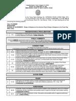 8-23-16 Agenda