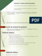 Amenorrea  Primaria
