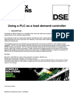 056-045 PLC as Load Demand Controller