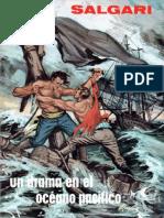 Un Drama en El Océano Pacífico de Emilio Salgari