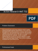 action research mat 732