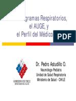 2. P Astudillo - Programas, Auge y Perfil Medico IRA