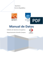 Manual de Datos quimicos