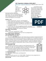 syllabus pap chemistry 2016-2017