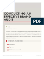 Conducting an Effective Brand Audit - Ignition Consulting Group