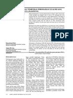 Analisis Spasial Dan Temporal Perubahan Luas Ruang Hijau Bandung (Purti, Primaristianti. 2010)
