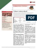 CIMB Commodities Strategy 20130204 - Calmer Waters Ahead