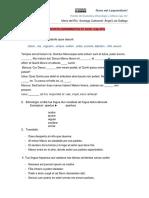 Prueba de Gramática, Etimología y Cultura. Cap XIV LLPSI