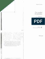 U6.10. Derrida, Jacques - La Verdad en Pintura.