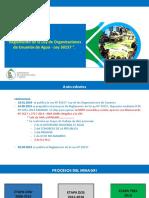 Reglamento de Organizacion de Usuarios de Agua