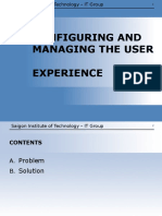 Lab 05 Configuring and Managing the User Experience
