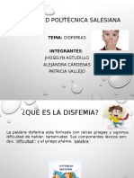 Disfemias