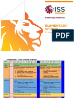 K1 2016-2017 Yearly Overview Packet