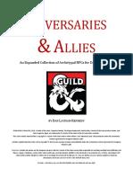 5e Adversaries & Allies