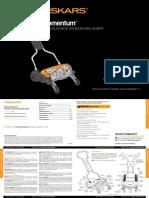 Fiskars Momentum Reel Mower User Manual.pdf