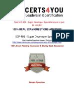 SCP-401 Practice Test