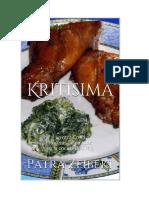 Zeibeki Patra - Kritisima - La Otra Creta - Recetas Inspiradas en La Cocina de Creta