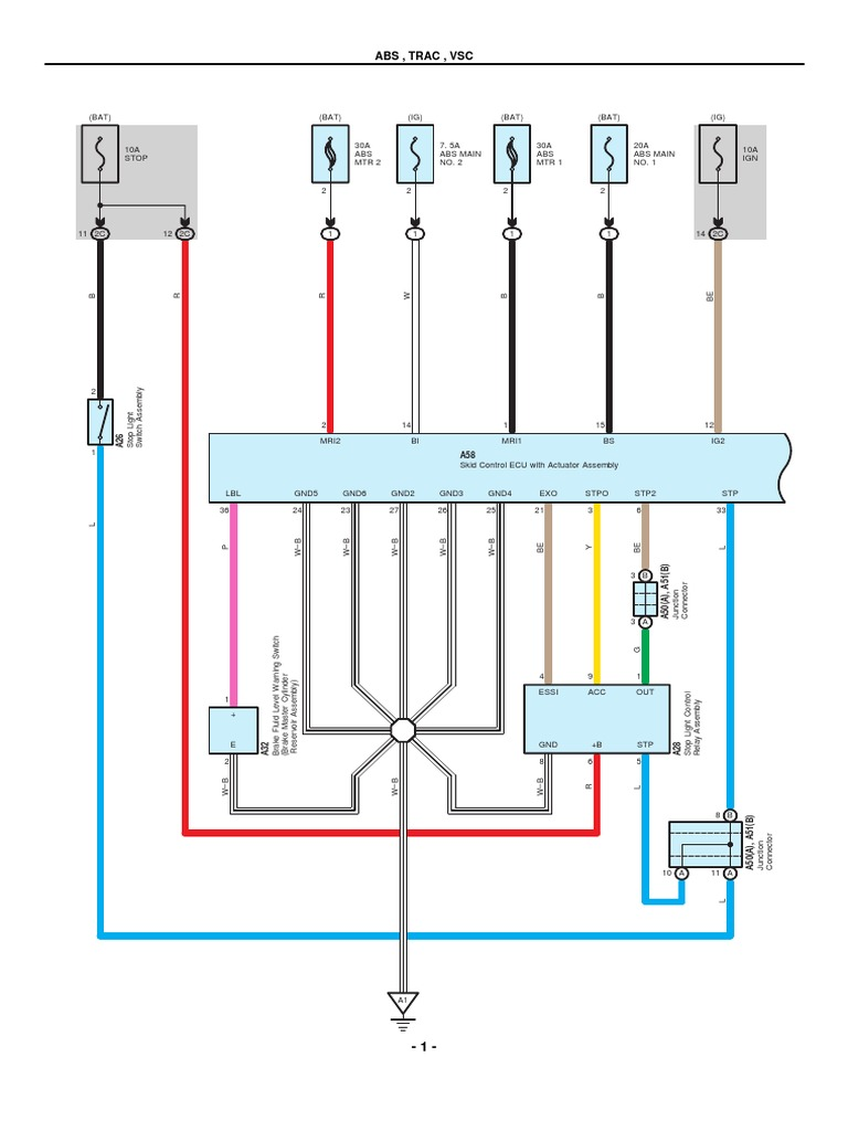 2010 Prius Obd Ii Wiring Diagram Third Level Socket Toyota Electrical Diagrams Pdf Anti Lock Braking Gm Obd2 Connector