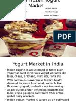Indian Frozen Yogurt Market