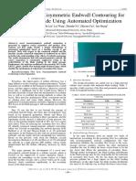 A Novel Nonaxisymmetric Endwall Contouring for Turbine Cascade Using Automated Optimization