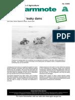 Dam Repair (Leakage Repair)