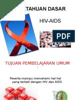Presentation HIV and aids