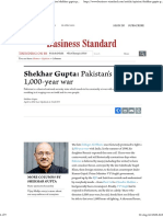 Shekhar Gupta_ Pakistan's Real 1,000-Year War _ Business Standard Column